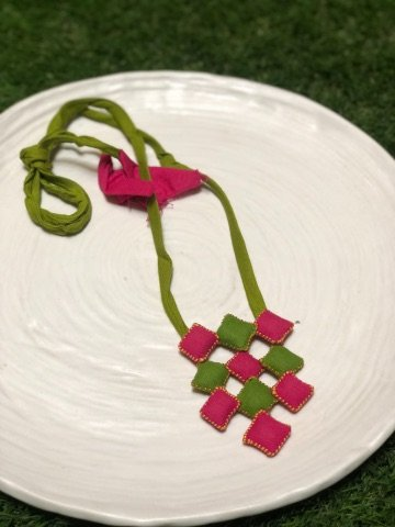 10 Blocks Handcrafted Necklace